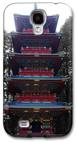 Nikko Pagoda Galaxy S4 Case by Naxart Studio