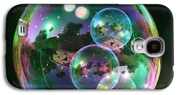 Cool Galaxy S4 Case - #nofilter #doubletap #bubbles by Mandy Shupp