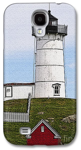 Nubble Lighthouse- Canvas Galaxy S4 Case by Luke Moore