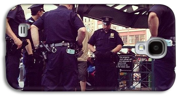 Summer Galaxy S4 Case - Nypd by Randy Lemoine