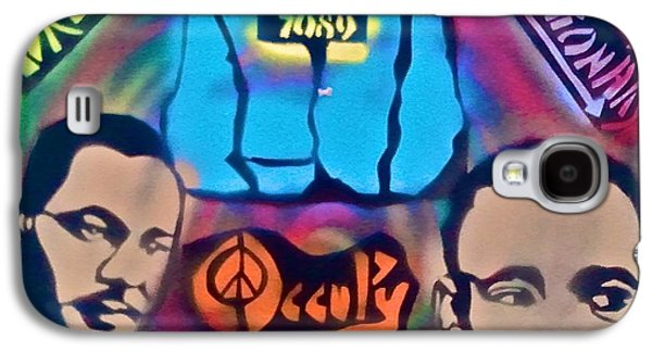 Occupy The Dream Galaxy S4 Case by Tony B Conscious