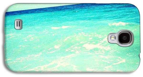 #ocean #plain #myrtlebeach #edit #blue Galaxy S4 Case