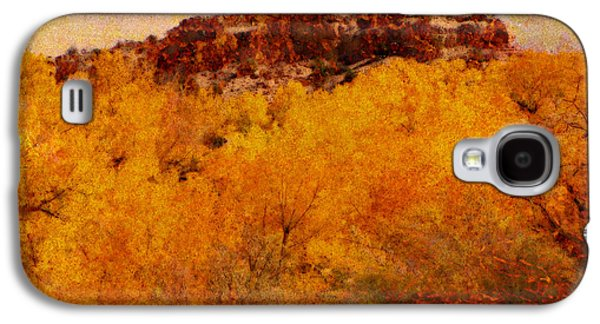 October  Galaxy S4 Case by Ann Powell