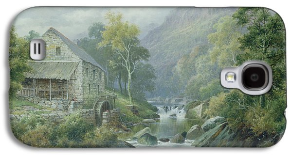 Old Disused Mill Dolgelly Galaxy S4 Case by William Henry Mander