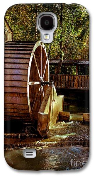 Old Mill Park Wheel Galaxy S4 Case