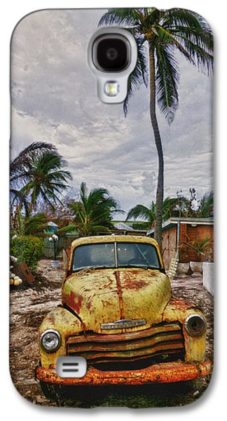 Old Yellow Truck Florida Galaxy S4 Case by Garry Gay
