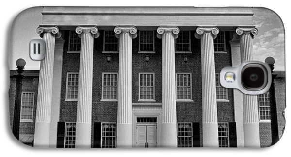 Ole Miss Lyceum Black And White Galaxy S4 Case by Joshua House