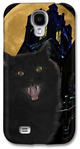 One Dark Halloween Night Galaxy S4 Case by Shane Bechler