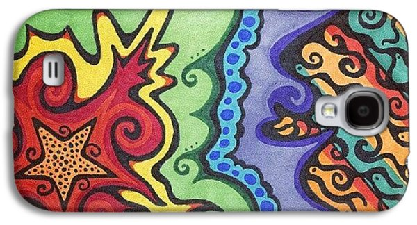 Colorful Galaxy S4 Case - Original #sharpie Art ! From by Mandy Shupp