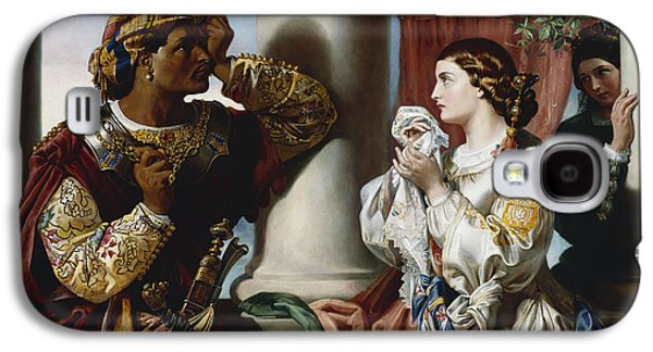 Othello And Desdemona Galaxy S4 Case by Daniel Maclise