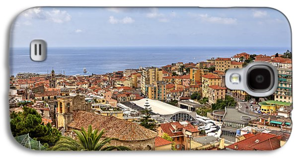 Over The Roofs Of Sanremo Galaxy S4 Case by Joana Kruse