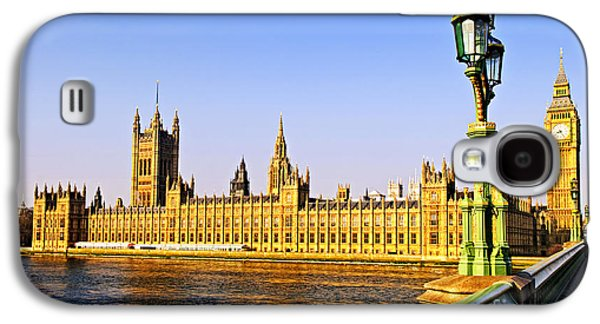 Palace Of Westminster From Bridge Galaxy S4 Case by Elena Elisseeva