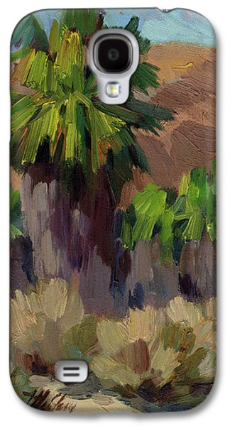 Palms At San Andreas Galaxy S4 Case by Diane McClary