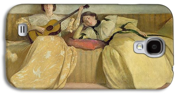 Panel For Music Room Galaxy S4 Case by John White Alexander