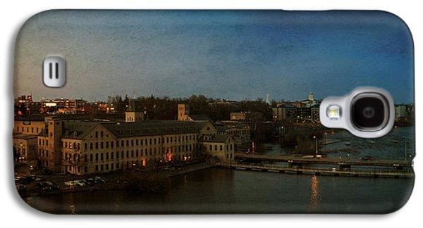 Panoramic Appleton Skyline Galaxy S4 Case by Joel Witmeyer