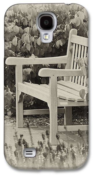 Park Bench Galaxy S4 Case by Bill Barber