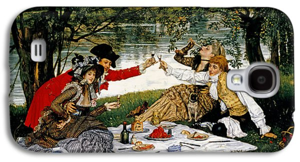 Partie Carree Galaxy S4 Case by James Jacques Joseph Tissot