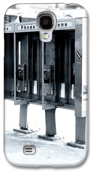 Pay Phones - Still In Nyc Galaxy S4 Case by Angie Tirado