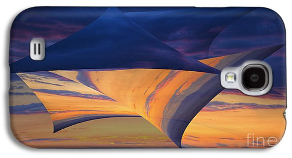 Peeling Back The Layers Galaxy S4 Case by Clare Bambers