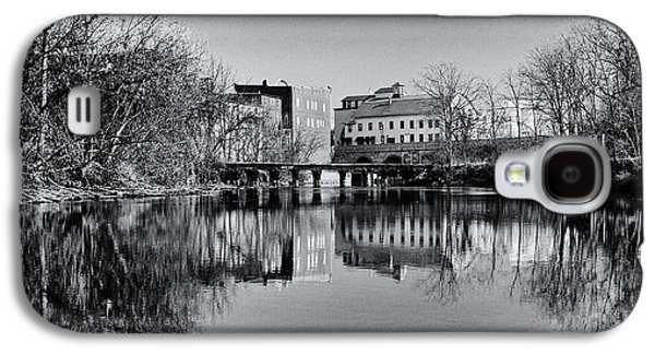 Penn Yan Bridges In Black And White Galaxy S4 Case by Joshua House