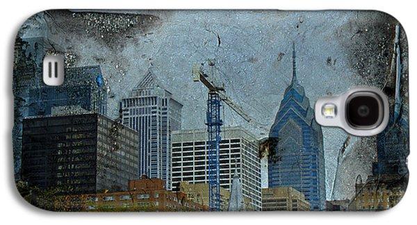 Philadelphia Skyline Galaxy S4 Case by Mother Nature