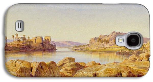 Philae - Egypt Galaxy S4 Case by Edward Lear