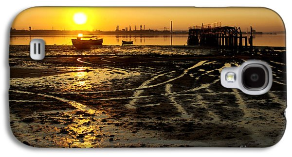 Pier At Sunset Galaxy S4 Case by Carlos Caetano