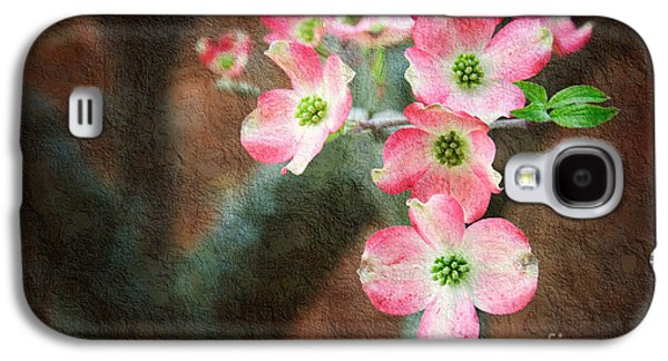 Pink Dogwood Cascade Galaxy S4 Case by Andee Design