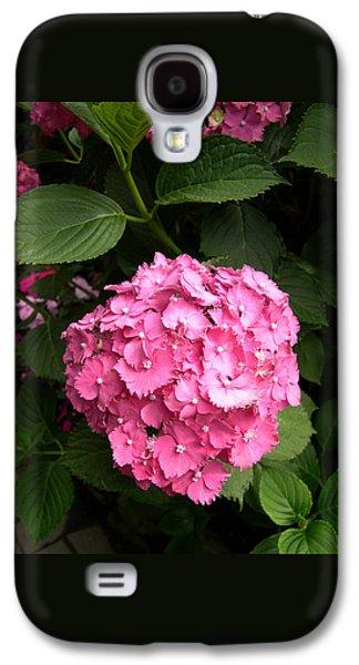 Pink Hydranga Galaxy S4 Case