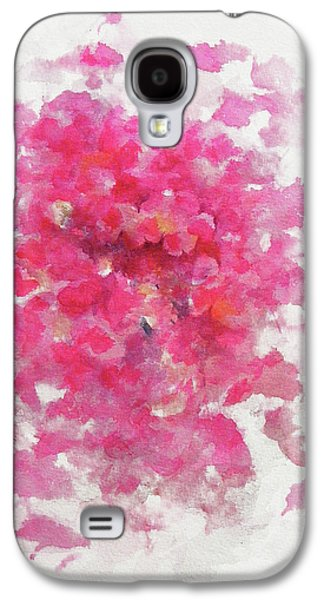 Pink Rose Galaxy S4 Case