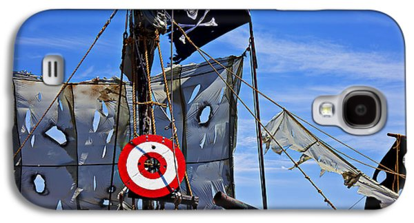 Pirate Ship With Target Galaxy S4 Case by Garry Gay