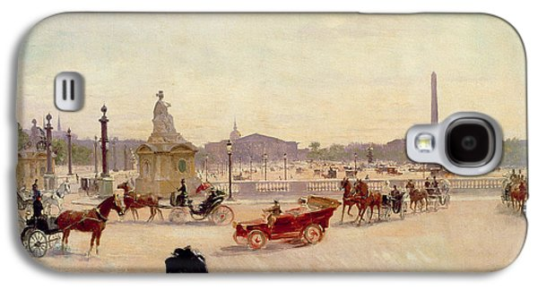 Place De La Concorde - Paris  Galaxy S4 Case by Georges Fraipont