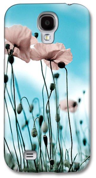 Poppy Flowers 09 Galaxy S4 Case by Nailia Schwarz
