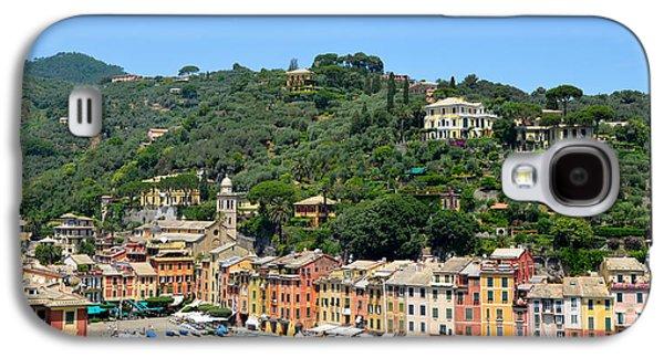 Portofino Hillside Galaxy S4 Case by Corinne Rhode