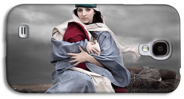 Portrait Of Mary Galaxy S4 Case by Cindy Singleton