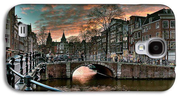 Prinsengracht And Reguliersgracht. Amsterdam Galaxy S4 Case