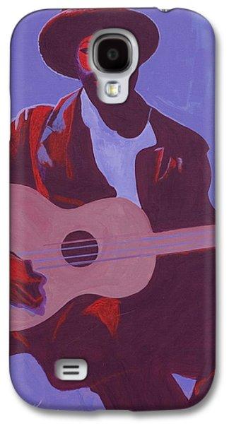 Purple Blues Galaxy S4 Case by Kaaria Mucherera