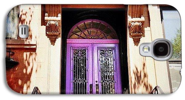Purple Door - Brooklyn - New York City Galaxy S4 Case