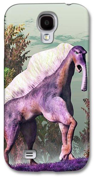 Purple Fantasy Creature Galaxy S4 Case by Daniel Eskridge