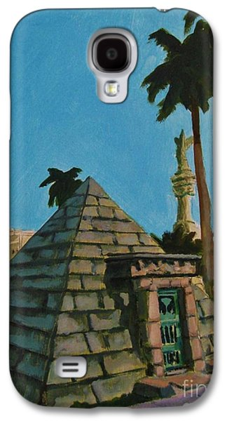 Pyramid Tomb In Cemetary Galaxy S4 Case by John Malone