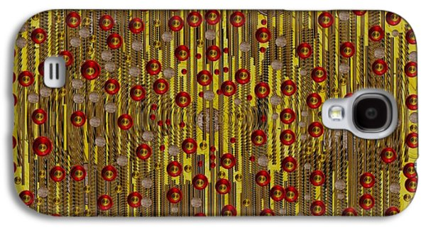 Raining Coins And Juwels Galaxy S4 Case by Pepita Selles