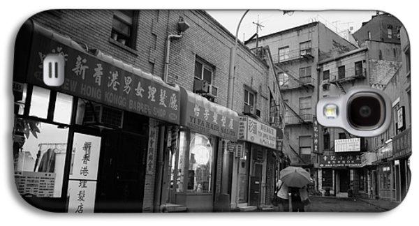Rainy Evening - Chinatown - New York City Galaxy S4 Case by Vivienne Gucwa