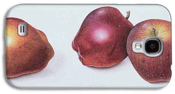 Red Apples Galaxy S4 Case by Margaret Ann Eden