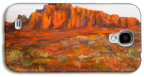 Red Cliffs Galaxy S4 Case by Jack Skinner