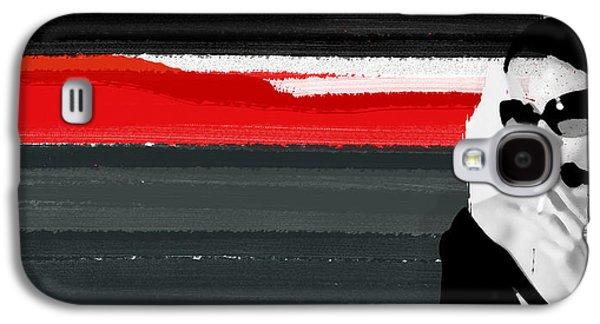 Red Line Galaxy S4 Case by Naxart Studio