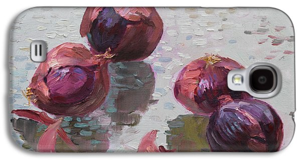 Red Onions Galaxy S4 Case by Ylli Haruni