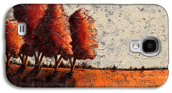 Red Quartet  Galaxy S4 Case by Mauro Celotti