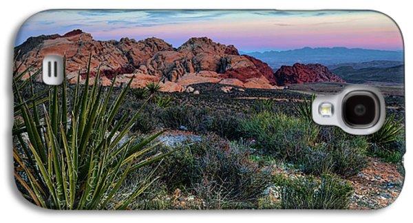 Red Rock Sunset II Galaxy S4 Case