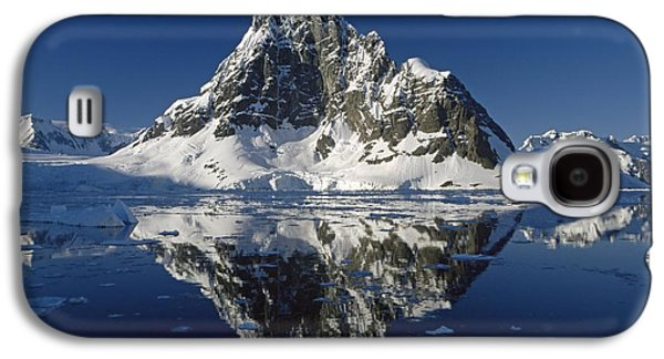 Reflections With Ice Galaxy S4 Case by Antarctica