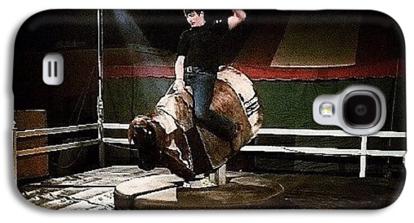 Ohio Galaxy S4 Case - Ride The Bull by Natasha Marco